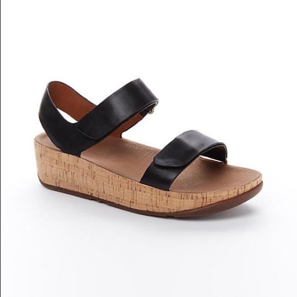 77d70bb7baa Fitflop Shoes - Fitflop Bon Easy sandals black comfy shoes